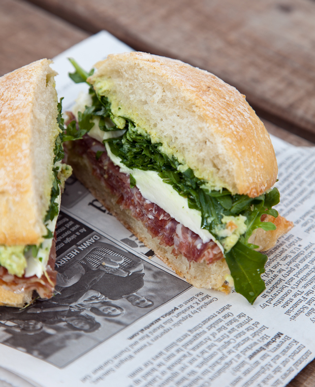 Sandwich Sunday // Soppressata Ciabata